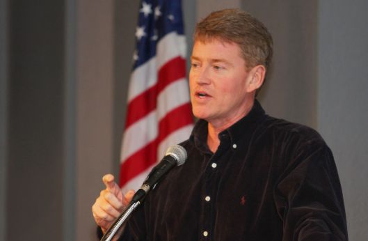 Chris Koster (D) [March 2015 file photo].