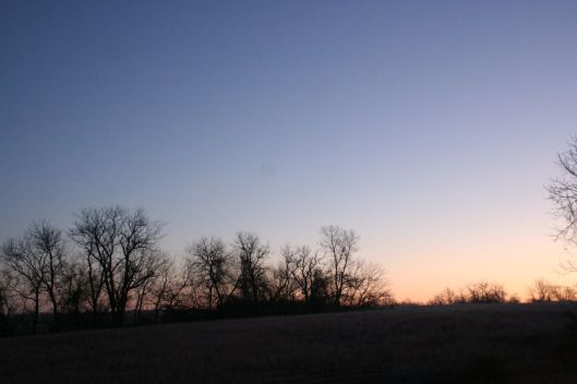 Morning in west central Missouri.