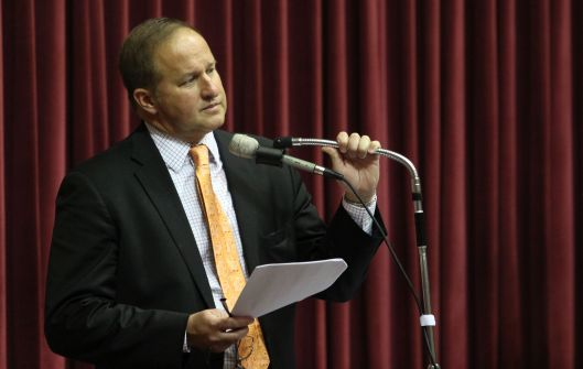 Representative John Diehl (r) [May 2014 file photo].