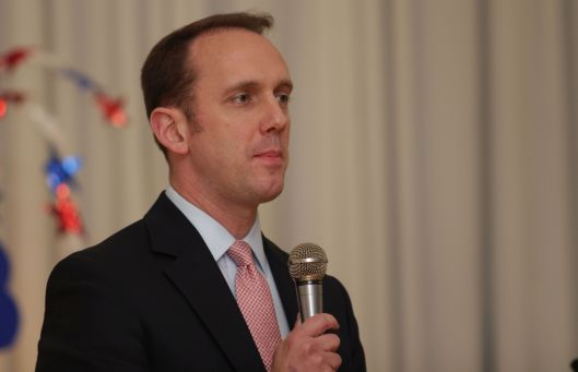 State Senator Scott Sifton (D), at the time an announced candidate for Attorney General in 2016. He has since withdrawn from that race.
