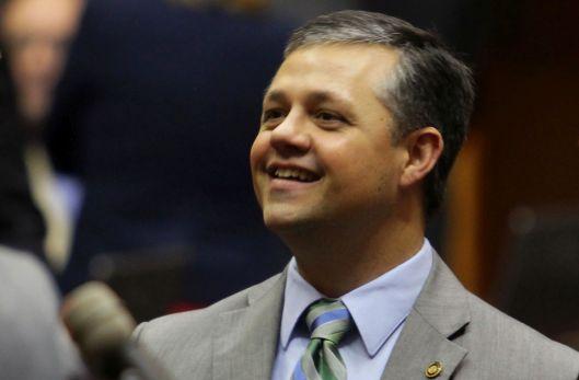 Representative Jason Chipman (r) on the House floor - January 6, 2016.