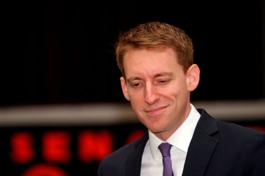 Jason Kander (D) [2015 file photo].