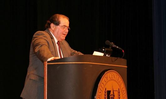 Associate U.S. Supreme Court Justice Antonin Scalia [2008 file photo].