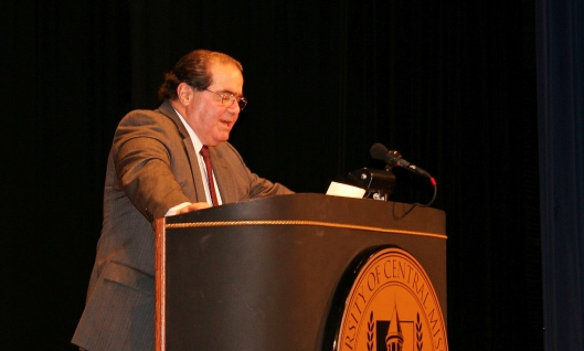 Associate U.S. Supreme Court Justice Antonin Scalia [2008 file photo].