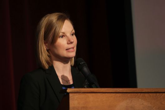 State Auditor Nicole Galloway (D).