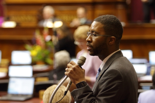 Representative Brandon Ellington (D) - May 13, 2016.