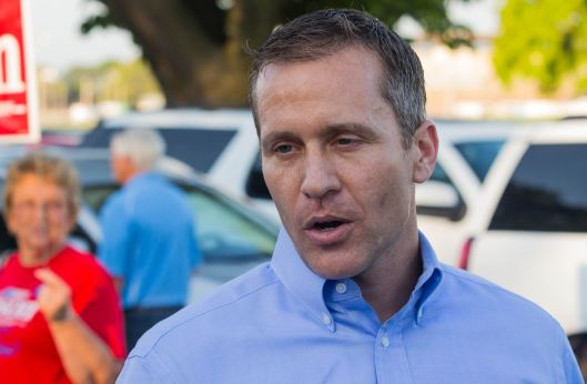 Erics Greitens (r) [2016 file photo].