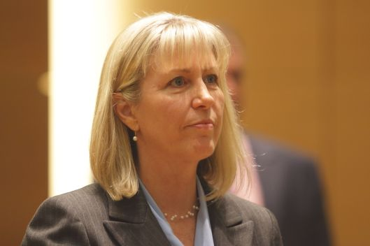 Teresa Hensley, the Democratic Party nominee for Missouri Attorney General [2016 file photo].