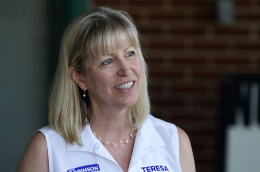 Teresa Hensley, the Democratic Party nominee for Attorney General.