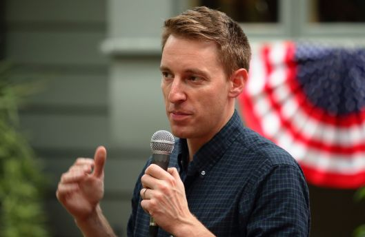 Jason Kander (D) - Warrensburg - August 14, 2016.