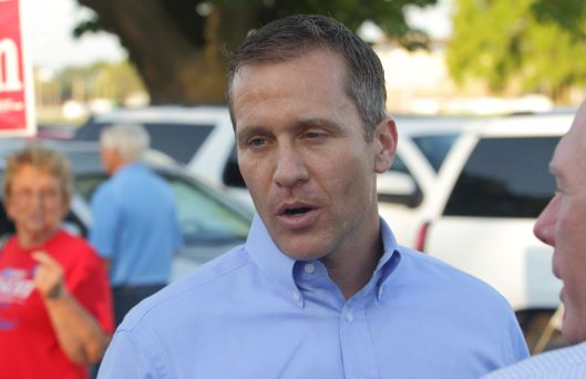 Eric Greitens (r), the republican party nominee for Governor.
