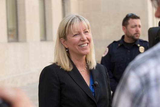 Teresa Hensley (D) [photo: Jerry Schmidt].
