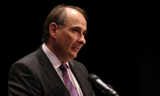 David Axelrod (2014 file photo).