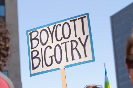 Boycott Bigotry.