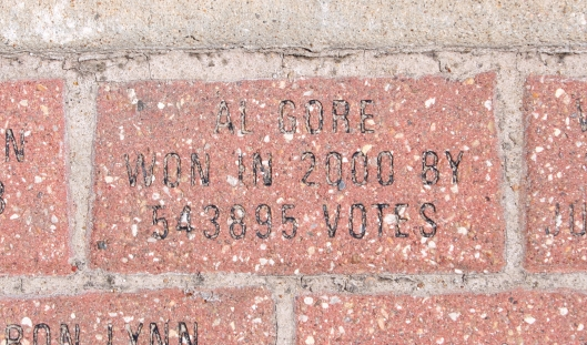 Brick: Al Gore won in 2000 by 543,895 votes