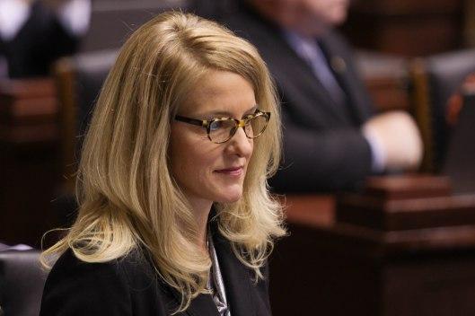 Representative Tracy McCreery (D) [2016 file photo].