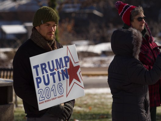 """Trump/Putin 2016"" - Jefferson City, Missouri - January 19, 2016."