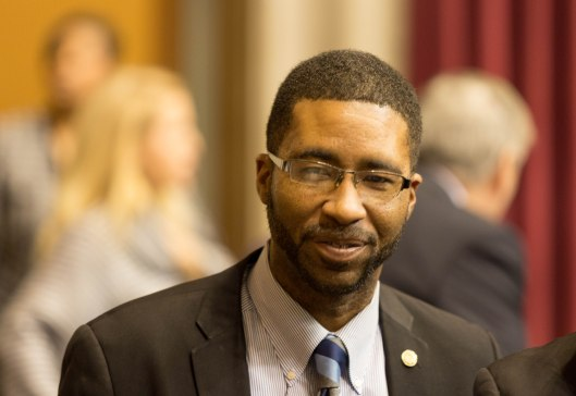 Representative Brandon Ellington (D) [2017 file photo].