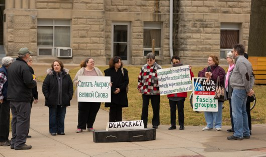 Funeral for Democracy - Warrensburg - January 20, 2017