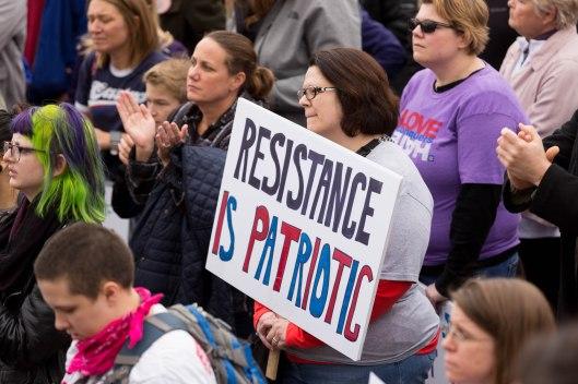 Resistance is patriotic.