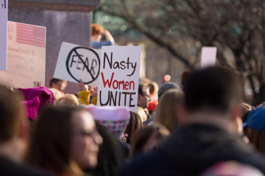 Nasty women unite.