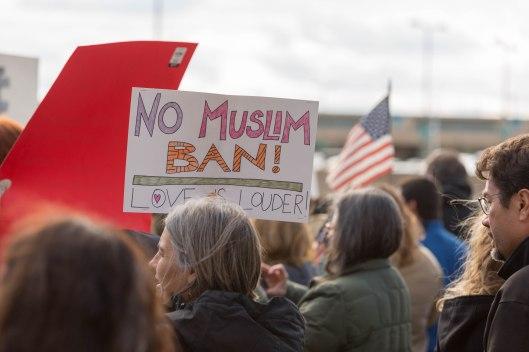 No Muslim ban.