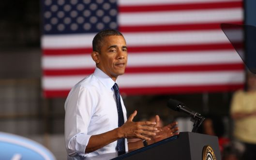 President Barack Obama - Kansas City, Missouri - September 20, 2013.