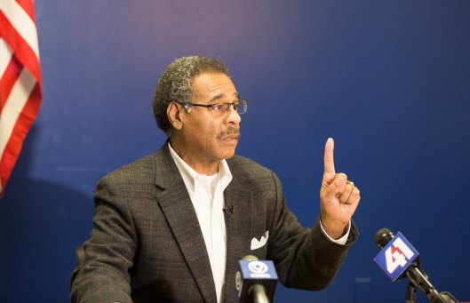 Representative Emanuel Cleaver (D) [2017 file photo].